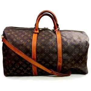 Auth Louis Vuitton Keepall Bandouliere #3346L24